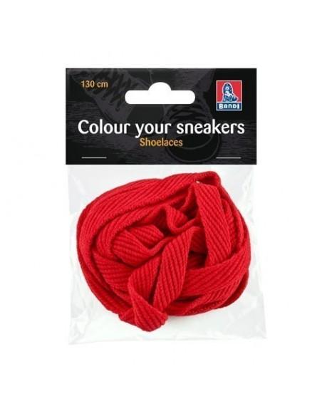 Skosnöre - Sneaker Röd